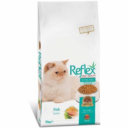 Reflex Balıklı Kısırlaştırılmış Kısır Kedi Maması 15 kg