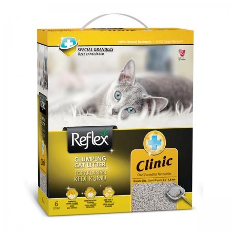 Reflex Klinik Topaklaşan Kedi Kumu 6 Lt