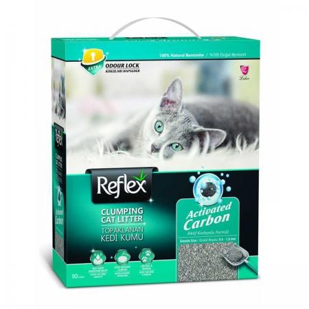 Reflex Aktif Karbon Topaklaşan Kedi Kumu 6 Lt