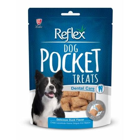 Reflex Köpek Diş Sağlığı için  Pocket Ördekli Ödül 95 fr.